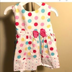 BOUTIQUE NEW BABY INFANT GIRL DRESS SZ 3 MONTHS